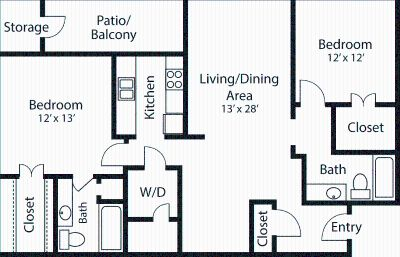 2 bedroom in Quincy