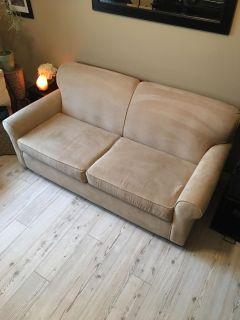 Sofa With Pull Out Full Bed