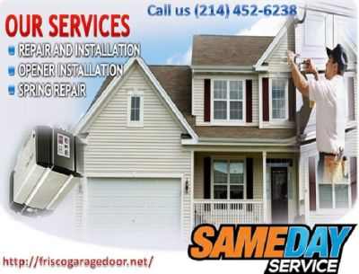 Call (214) 452-6238 for A+ Rated Garage Door Repair Services | Frisco 75034 TX