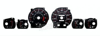 Find 160MPH Black Reverse EL Glow Gauge Indiglo Face New For 86-89 Toyota Supra Turbo motorcycle in Monterey Park, California, United States, for US $24.99