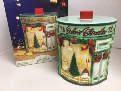 """""""Atelier at home"""" pretty Christmas cookie jar"""