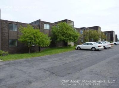 Plowing, Lawn Care and hot water included in rent.  Large Bedroom with an open floor plan.