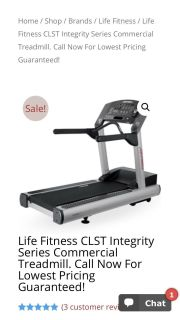 Commercial life fitness Tredmill
