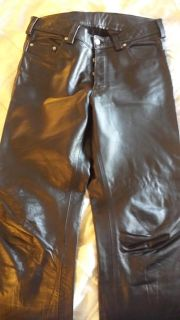 $50, mens leather 501 jeans 34x33