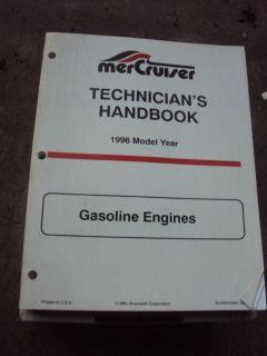 Find Mercury Marine Mercruiser 1996 Gasoline Engines Service Technicians Handbook motorcycle in Minneapolis, Minnesota, US, for US $19.95