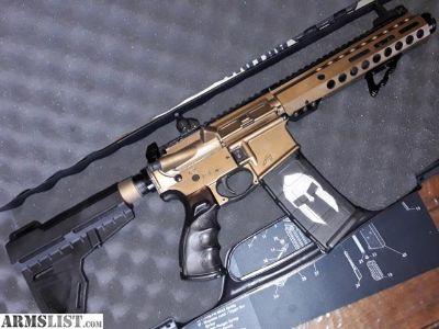 For Sale: Spartan Cerakote AR Pistol