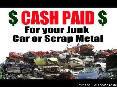 Big Cash 4 junk cars