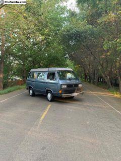 1987 VW Vanagon westfalia low miles w/ AC