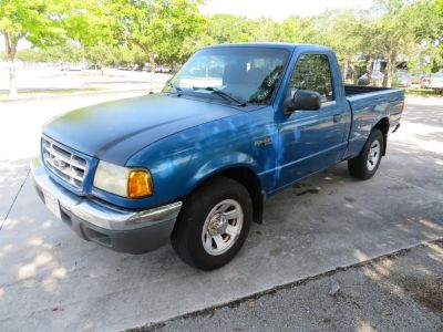 2002 Ford Ranger XL (Blue)