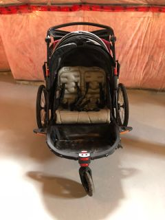 Double stroller - converts to bike trailer