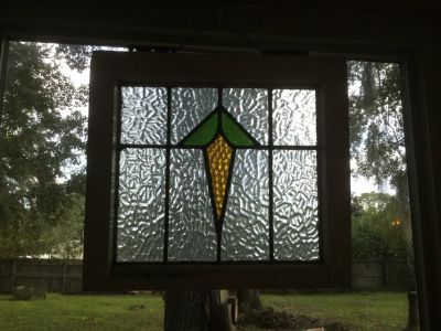 Antique Stain GlassWindow