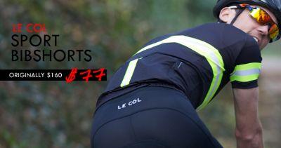 Le Col Sport Men's Road Cycling Shorts