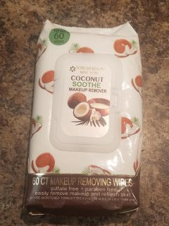Coconut Soothe Makeup Remover Wipes NEW