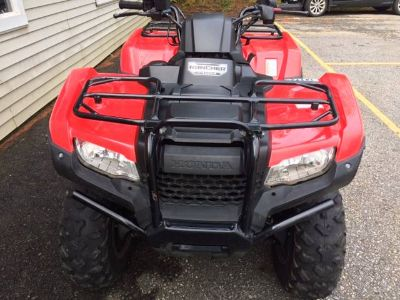 2016 Honda FourTrax Rancher 4x4 ES Utility ATVs Littleton, NH