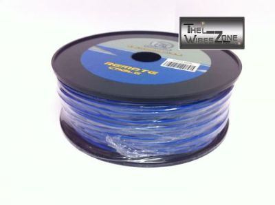 Sell New Bullz Audio BRP18.400BL 18 Gauge 400' Feet Primary Remote Wire Cable Blue motorcycle in Los Angeles, California, United States, for US $24.95