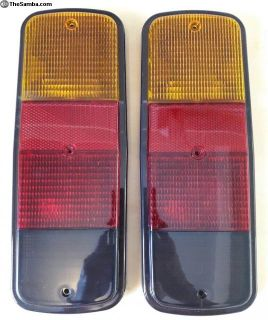 bus 72-79 tail light tailight lenses Smoked/Amber