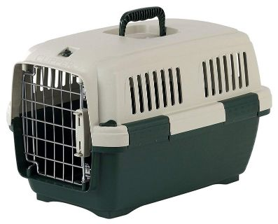 Carrier for small pets, holds 9-33 pounds.