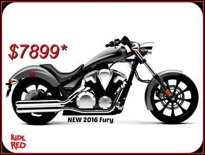 2016 Honda Fury Cruiser Motorcycles Erie, PA