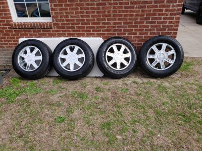 Set Of Cadillac Rims And Tires!