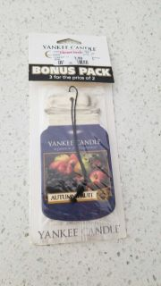 Yankee Candle car freshener used only 1