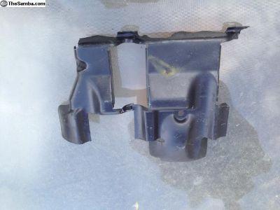 Engine tin under cylinder head
