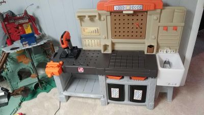 Step 2 tool bench. No tools included except what's attached