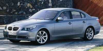 2004 BMW 5-Series 545i (BLACK)