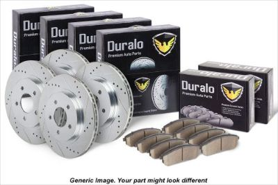 Find Front Rear Premium Performance Brake Kit - Ceramic Pads Slotted & Drilled Rotors motorcycle in San Diego, California, United States, for US $242.90