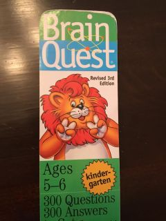 Brain quest for ages 5-6