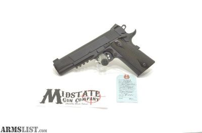 For Sale: Colt Government model Rail gun (1911) .45acp pistol