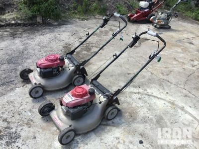 Lot of (2) Honda Mowers