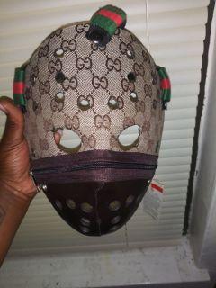 Handmade gucci mask