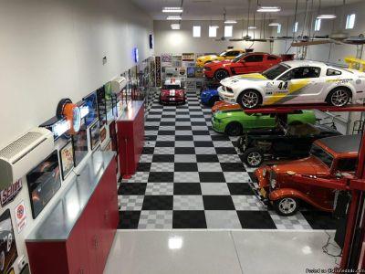 Garage Flooring in Virginia