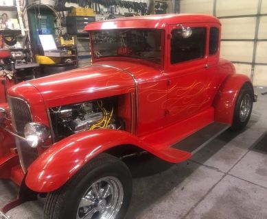 1930 Ford Model A (Red)