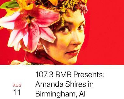 2 tickets to Amanda Shires Aug 11 - save on fees!