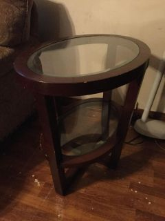 Oval Coffee table and two end tables