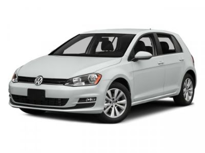 2015 Volkswagen Golf TSI S w/Sunroof (Silk Blue Metallic)