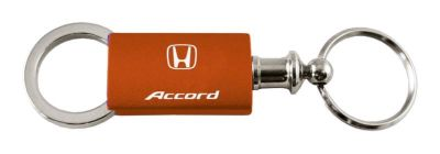 Sell Honda Accord Orange Anondized Aluminum Valet Keychain / Key fob Engraved in USA motorcycle in San Tan Valley, Arizona, US, for US $14.61