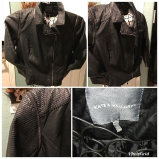 Brand New Woman s Leather Jacket/Vest
