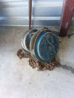 2 or 3 ton chain hoist 165 OBO
