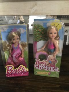 2- new Small barbies