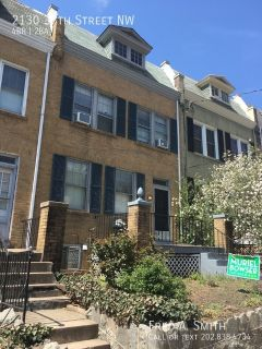 Beautiful 4 Bedroom Townhouse in Glover Park Coming first week of May!
