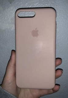 iPhone 7+ Pale Pink Case