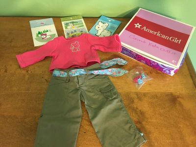 New- American Girl Coconut play outfit.