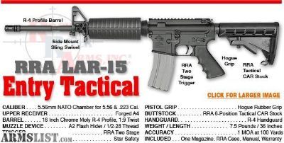For Sale: Rock River Arms LAR-15 Entry Tactical
