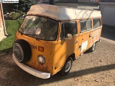 VW Volkswagen T2 camper 1977