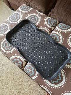 Boot shoe tray