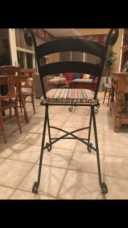 24 Iron Bar Stool $25.00 each or 5 for $100.00.