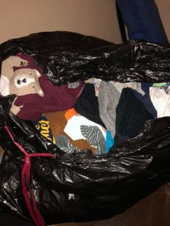 Bag full of Baby clothes BOY