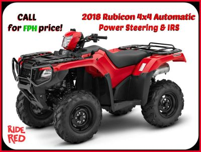 2018 Honda FourTrax Foreman Rubicon 4x4 Automatic DCT EPS Utility ATVs Erie, PA